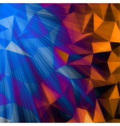 Abstract Triangle Background EPS 10 vector image