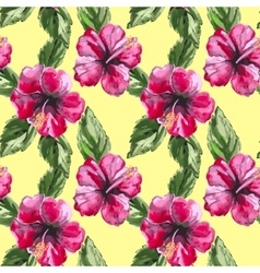 Beautiful seamless floral pattern background with vector