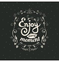 Motivational inspirational poster vector image