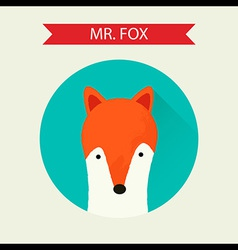 mrfox vector image