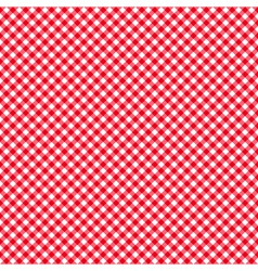 Checkered red and white abstract seamless pattern vector