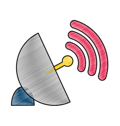 Antenna and wifi design vector