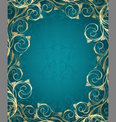 ornate frame vector image