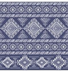 Tribal aztec vintage seamless pattern vector