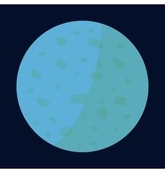 Venus planet icon cartoon style vector