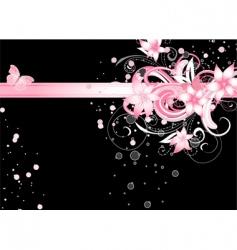 floral fantasy vector image