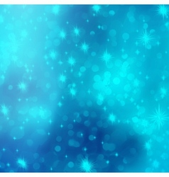 Blue abstract romantic with stars EPS 10 vector image vector image