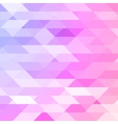 Colorful pink violet polygonal background vector