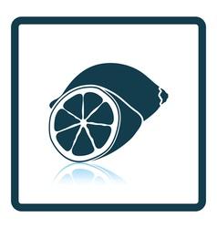Icon of lemon vector