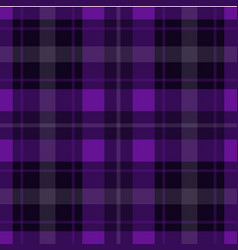 seamless purple black tartan - white stripes vector image vector image