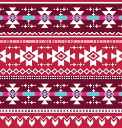 Tribal aztec seamless pattern vector