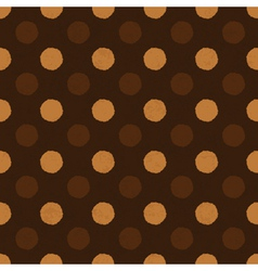 Coffee dot seamless background vector