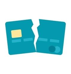 Debt Free Concept vector image