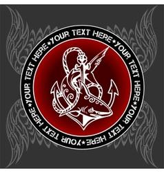 Military emblem - vector