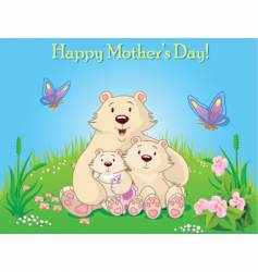 Mother's day illustration vector image vector image