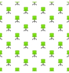 Office chair pattern cartoon style vector