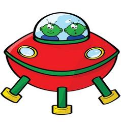 space aliens vector image