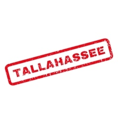 Tallahassee rubber stamp vector