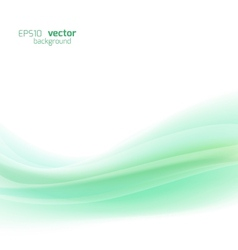 Green template abstract background vector image vector image
