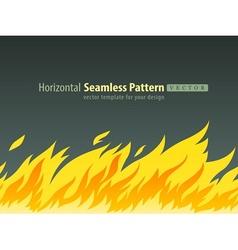 horizontal seamless pattern vector image