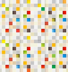 Square Background Seamless Little Squares Pixel vector image vector image