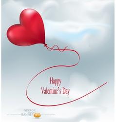 balloon-hearts vector image