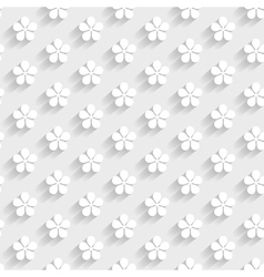 White 3d pattern vector