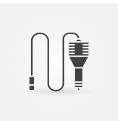 Car charger icon or logo vector