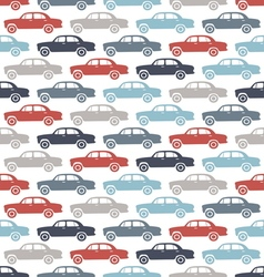 Car pattern3 vector image
