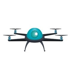 drone technology service icon vector image