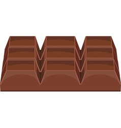 Chocolate black vector