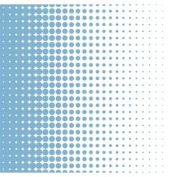 halftone bleu vector image