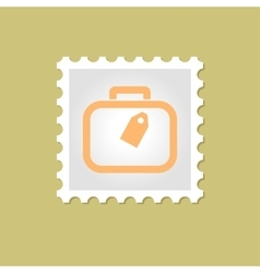 Bag stamp vector image