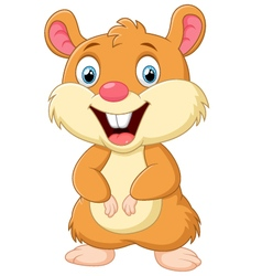 Cute mice cartoon vector image