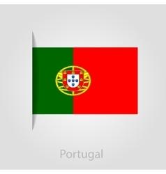 Portugal flag vector