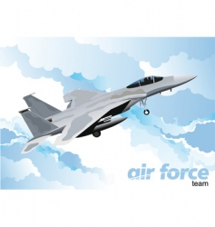 Air force vector