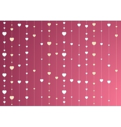Pink and purple st valentines background with vector
