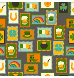 Saint patricks day seamless pattern vector