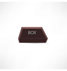 brown box vector image