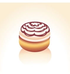 donut vector image