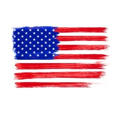 American flag independence day 4 th july vector