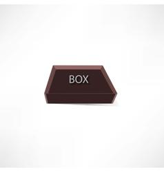 brown box vector image
