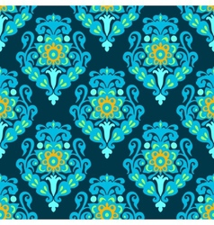 Damask royal seamless pattern vector