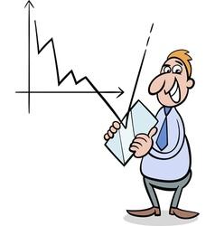 Economic crisis cartoon vector