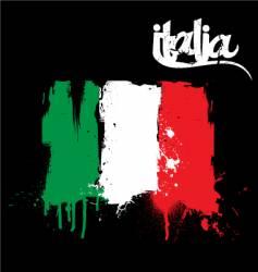 Italia vector image
