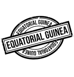 Equatorial guinea rubber stamp vector