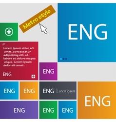 English sign icon great britain symbol set of vector