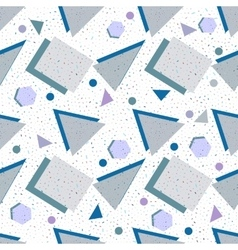 Seamless background geometric shapes vector