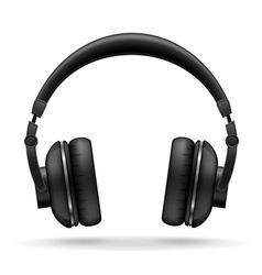 Acoustic headphones 01 vector