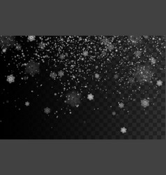 Blizzard or snowstorm texture vector